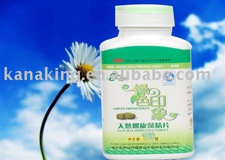 100%  Natural   Calcium -rich spirulina