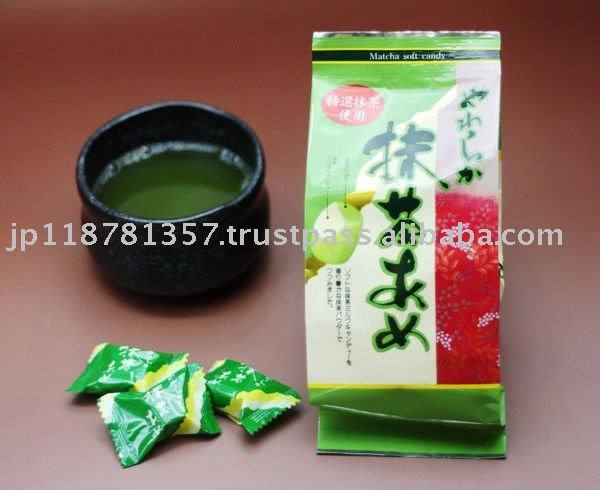 Matcha soft candy