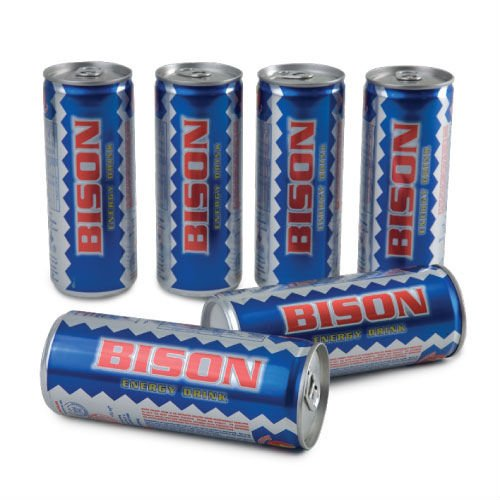 Energy Drink - Bison 6 x 250ml