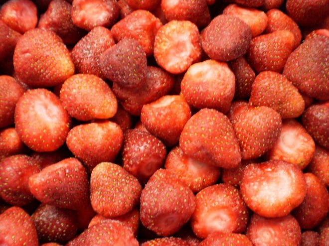 Еда,замороженные продукты,овощи,замороженные овощи,фрукты,замороженные фрукты,Клубника,Клубника замороженная,глубокой заморозки стра