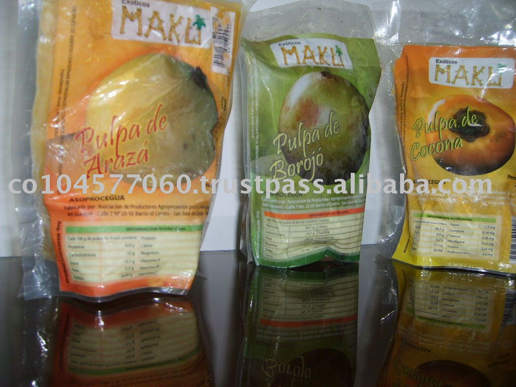 FROZEN  AND PULP FRUITS