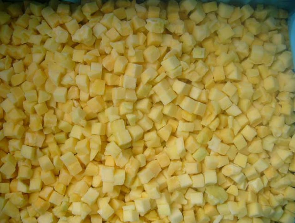 IQF Frozen Mango Chunks, Dices and/or Halves