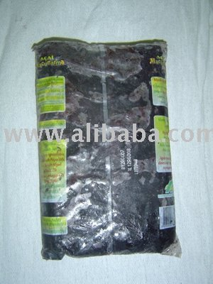 Acai fruit frozen mix 1kg pack from Amazonia Brazil