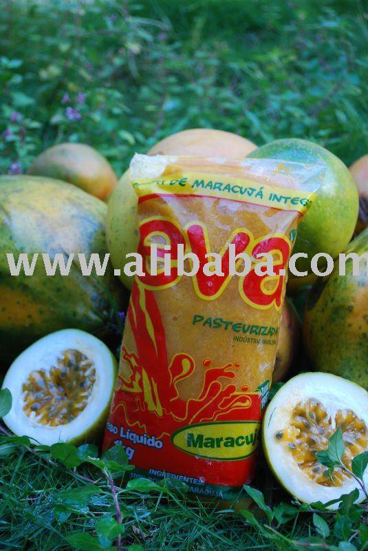 Frozen passion fruit pulp products,Brazil Frozen passion ...