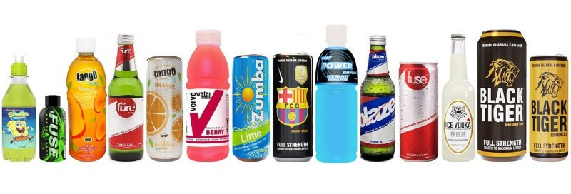 Private Label Soft Drink Manufacturer, create your own brand