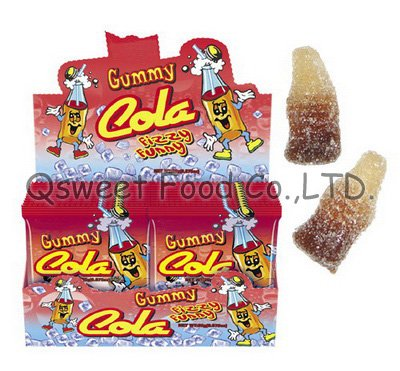 Cola Fizzy Funny Gummy