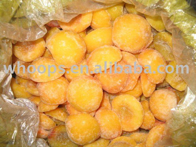 IQF желтые персики