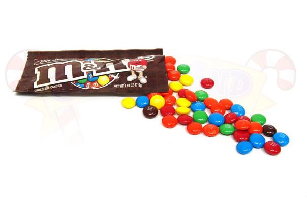 Offering Mars M&M's Coated Chocolate Candy   T8x48 1.69oz  Milk Chocolate Flavor