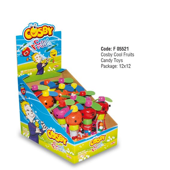 COSBY Cool Fruits Candy Toys