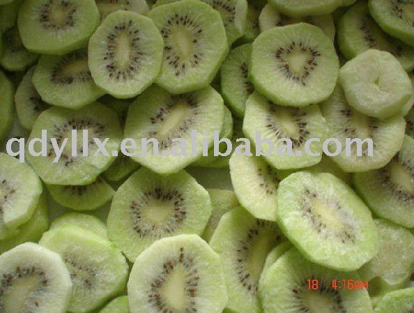 frozen kiwi ( IQF kiwi / frozen kiwi fruit )