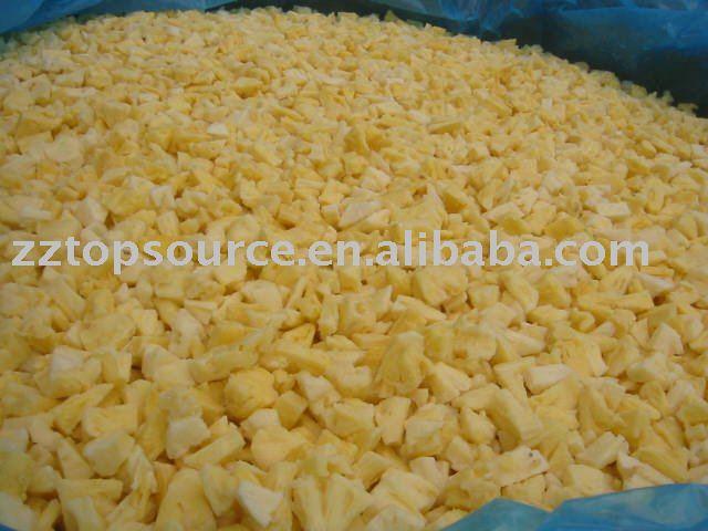 IQF  Кусочки  ананаса