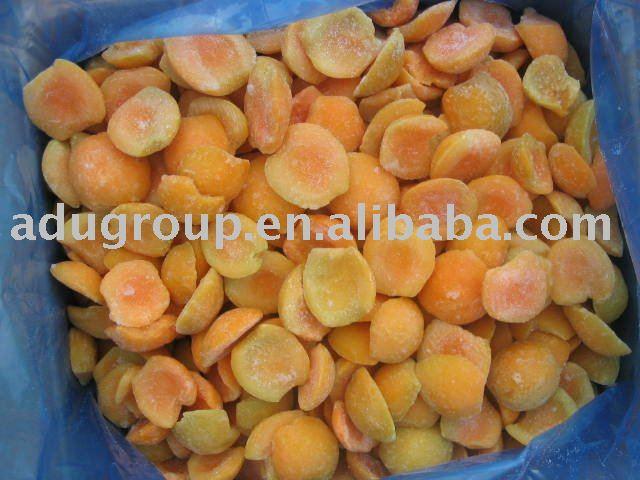 frozen apricots halves,iqf apricots halves