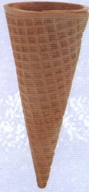 204 Sugar Cone Ice Cream Cones