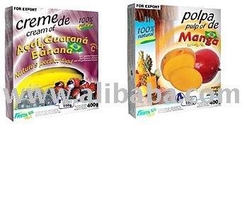 Sell Tropical Fruits Frozen Pulp 100% Brazil Origin