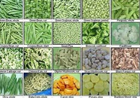 Frozen Fruits & Vegetables (IQF Certified)