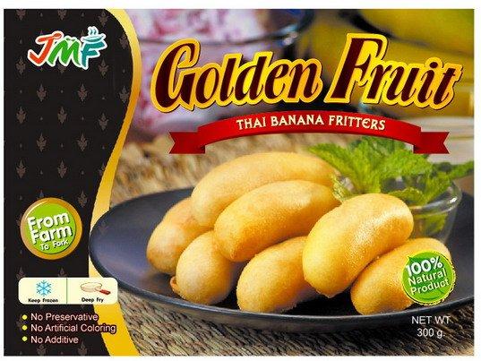 Frozen Golden Fruits Banana, Apple & Pineapple Fritter