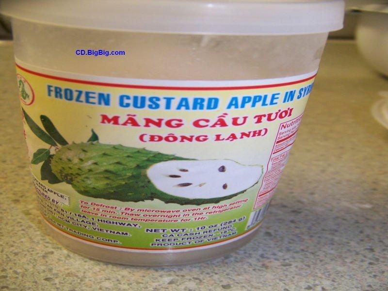 Mang Cau, Custard