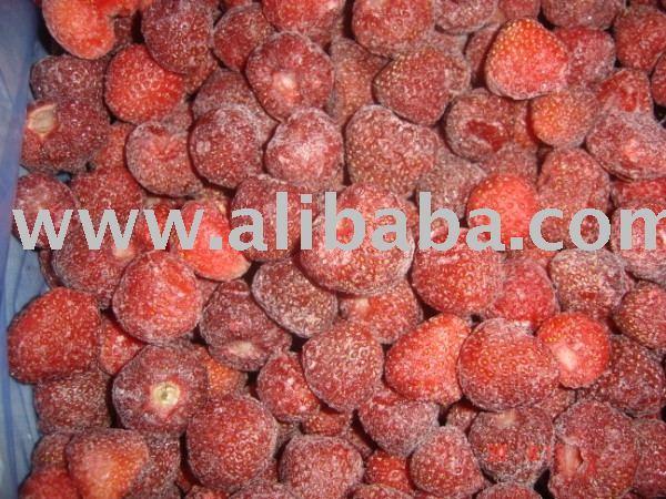 IQF strawberry Senga
