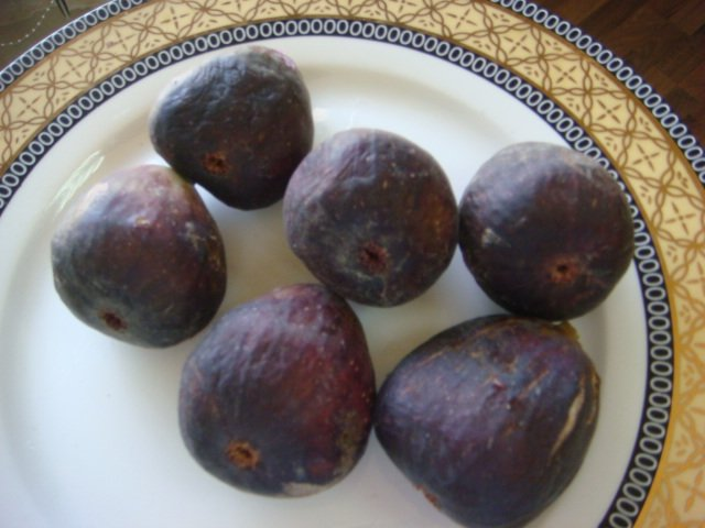 how to eat fresh black figs