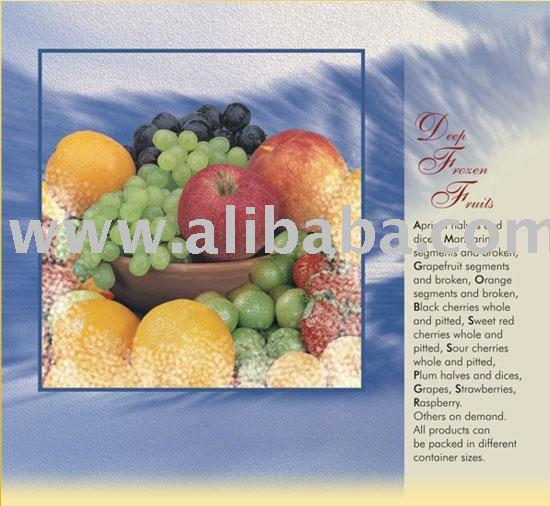 Deep Frozen Fruits