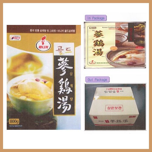 Samgyetang - Chicken Soup with Ginseng (Retort, Pouch), Korea, Korean