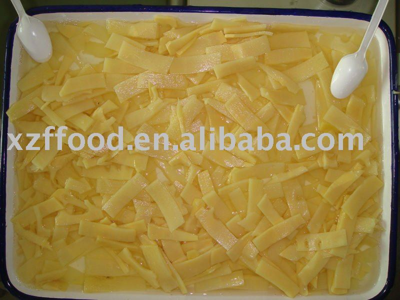 canned bamboo shoot slice