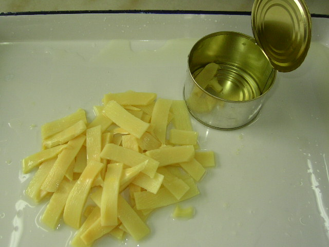 canned bamboo shoots (slice)