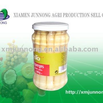 jar asparagus/canned asparagus