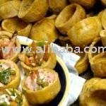 Fried plantains cups