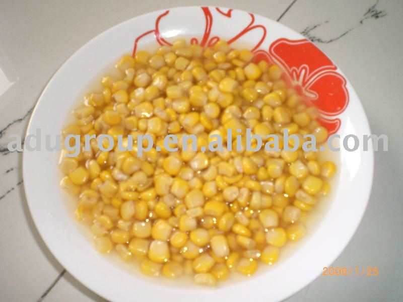 how to make canned corn sweet