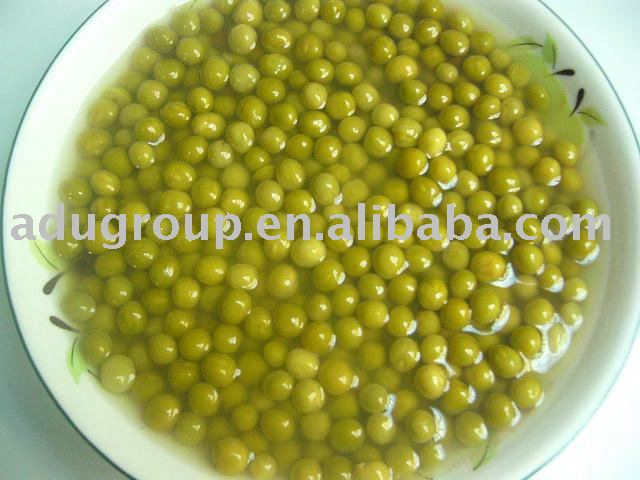 canned green peas (dry and fresh green peas)