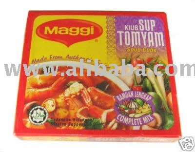 Maggi Tom Yam Stock Cube Spicy and Hot Special spice mix