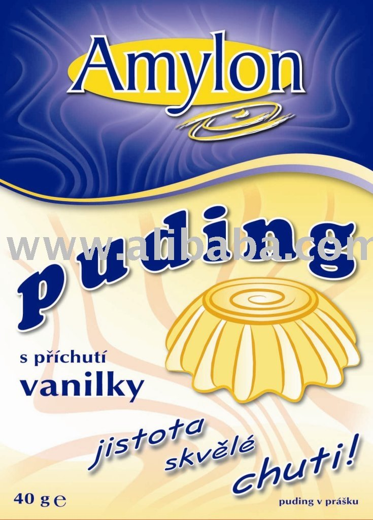 Pudding With Vanilla Flavour In Powder, Conventional Quality