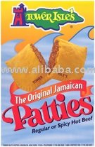 Peppery Hot Unbaked Jamaican Meat Patties-Bulk