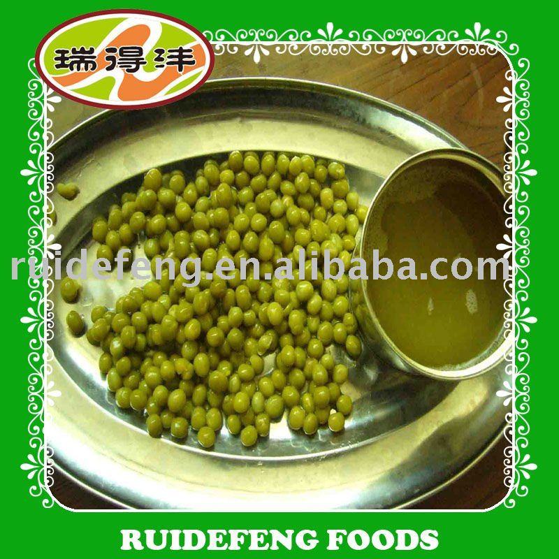 canned green peas jar