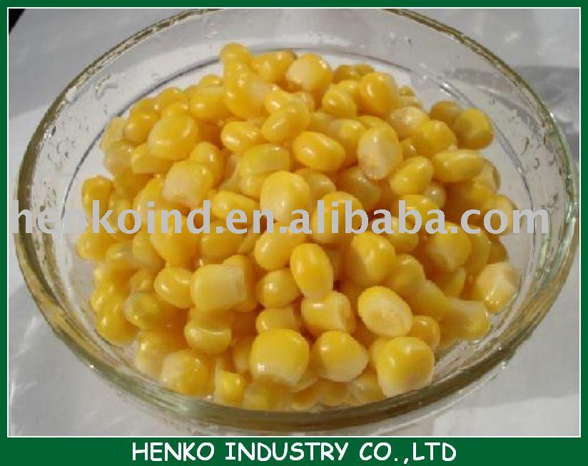 850g tinned kernel corn