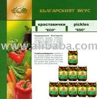 Pickled Gherkin In Glass Jars