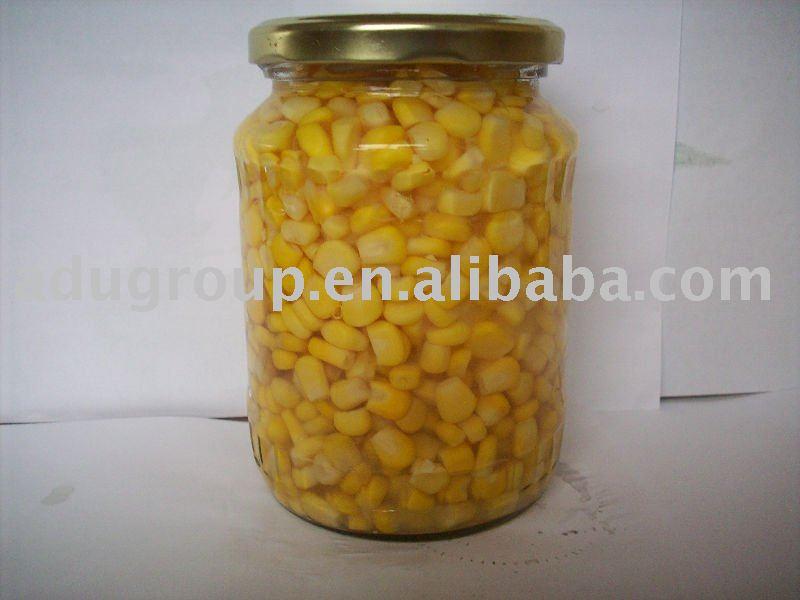 Sweet Corn in jars 370ml