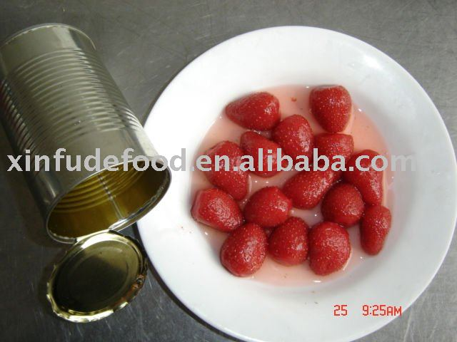 410g canned strawberries