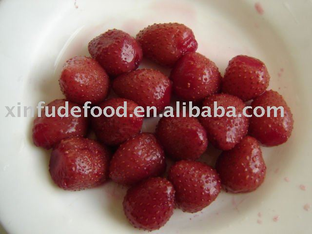 canned strawberry 410g*24tins/ctn