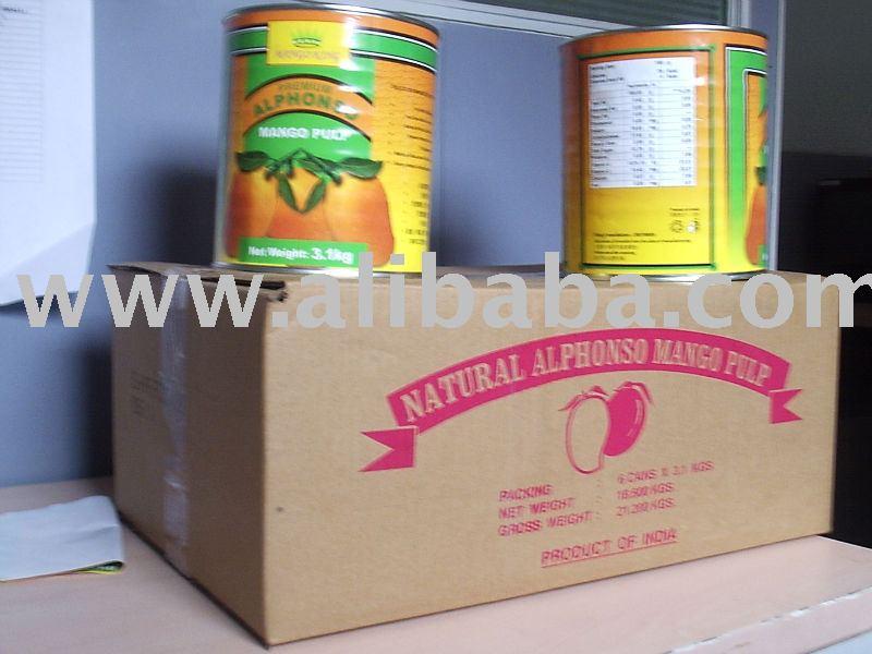MANGO KING Premium Alphonso Mango Pulp