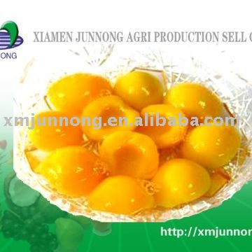 Canned yellow peach(Canned fruits),canned peach