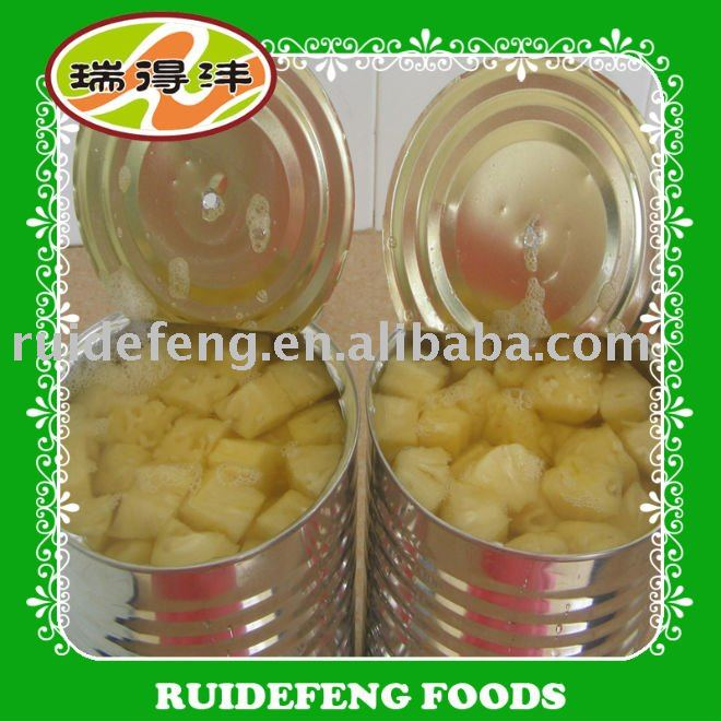 canned pineapple chunks in light syrup 14-17 brix