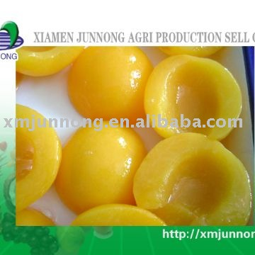 Canned yellow peach canned peach Canned fruit