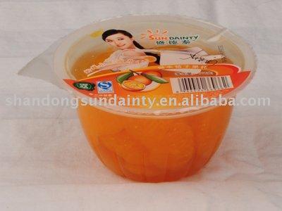 Fruit cups-mandarin oranges