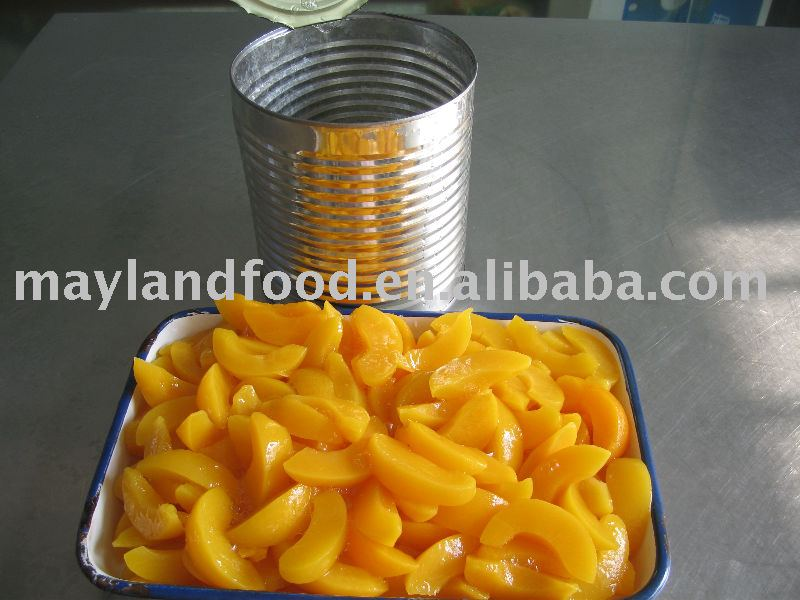 canned yellow peach slices in light syrup