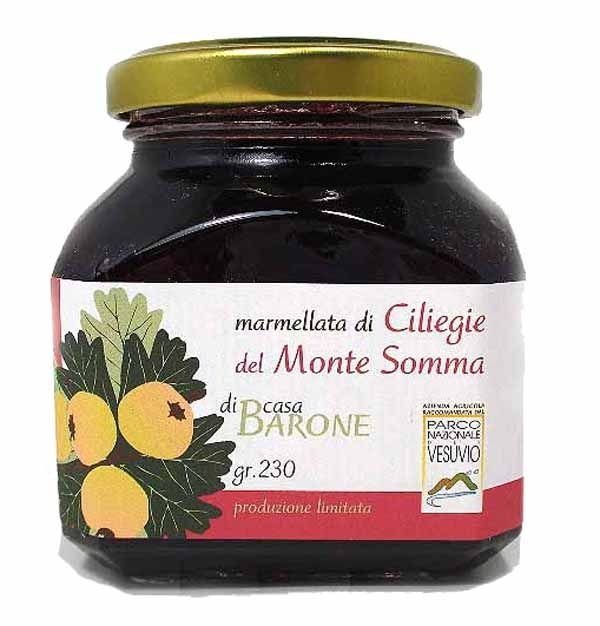 Cherries jam from Monte Somma