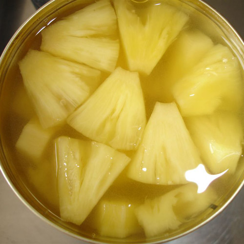 Canned Pineapple Chunks Products India Canned Pineapple