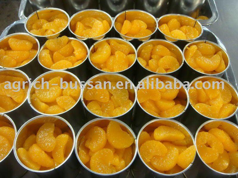 canned mandarin oranges segment