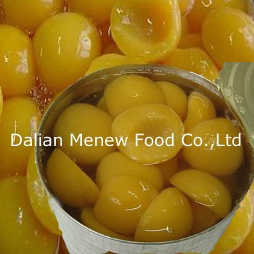 Canned Yellow Peach in light syrup (canned food-canned fruits)